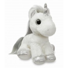 Sparkle Tales Twilight Unicorn silber 30cm
