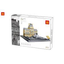 The Louvre of Paris - 4213 - 821 Teile