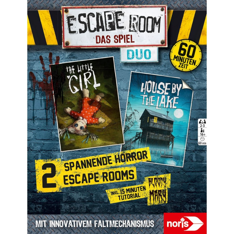 Escape Room Duo Horror