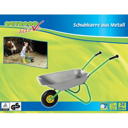 Outdoor active Schubkarre-Metall