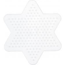 HAMA Bügelperlen Midi - Stiftplatte kleiner Stern
