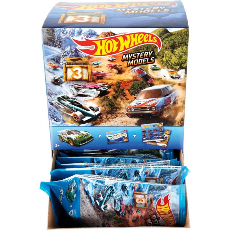Mattel Hot Wheels R9105 World Race Fahrzeuge, sortiert