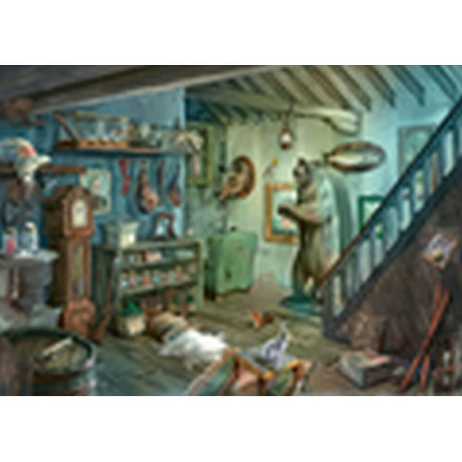 Ravensburger 150298 Puzzle EXIT 8: Gruselkeller 759 Teile
