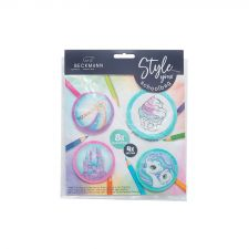 Buttons pack mint - girl