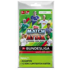 Match Attax Blisterpack 2020/2021