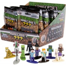 Jada Minecraft Nanofigs Blind Pack Display