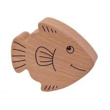 Holzrassel Fisch