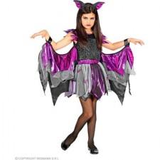 Fledermaus - Kleid mit Tutu und Flügel- 158