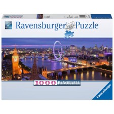 Ravensburger 15064 Puzzle London bei Nacht 1000 Teile Panorama