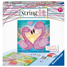 Ravensburger 18120 String it Midi Lama & Flamingo