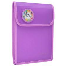 A4 Folder Purple Heftbox