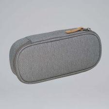 Ovale Federmappe College grey