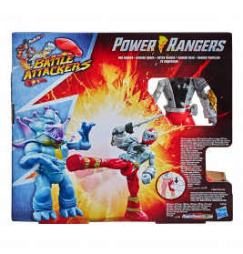 Power Rangers Dino Fury Battle Attackers 2-er Pack