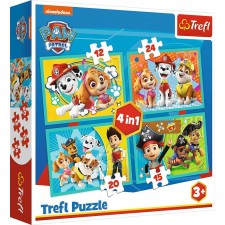 4 in 1 Puzzle  Paw Patrol