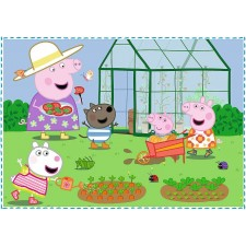 4 in 1 Puzzle  Peppa Pig