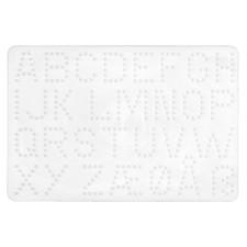HAMA Bügelperlen Midi - Stiftplatte Buchstaben
