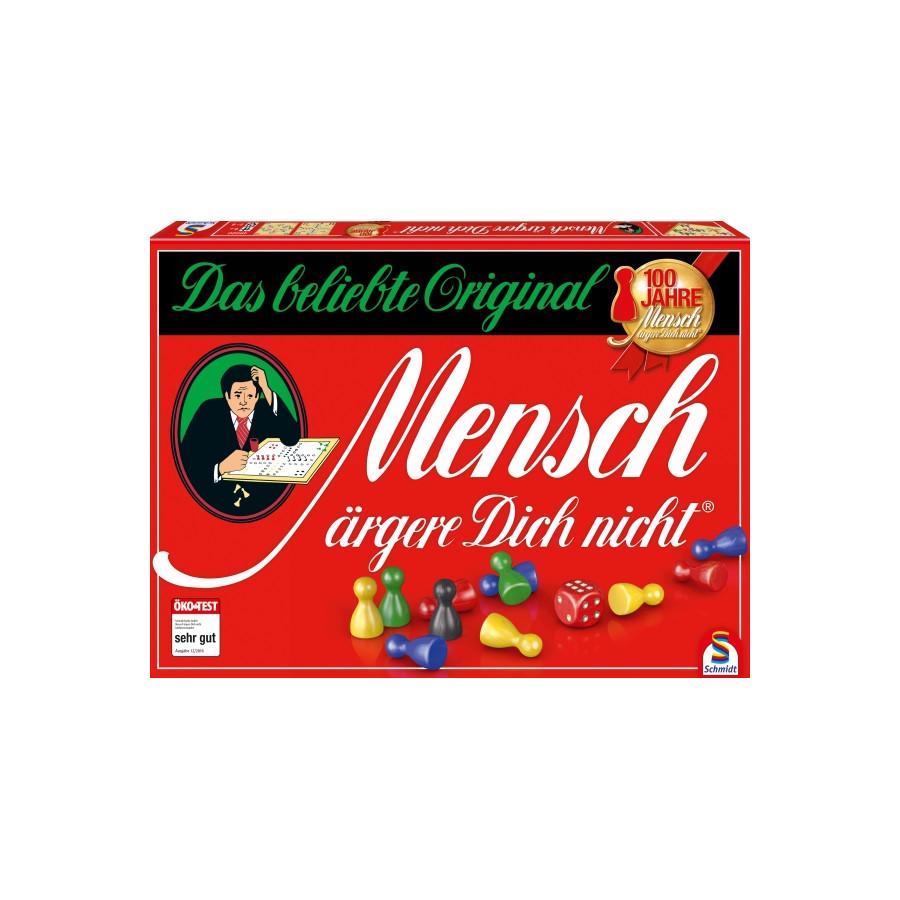 Schmidt Spiele Mensch ärgere dich nicht Jubiläums-Ausgabe mit Holzsteinen