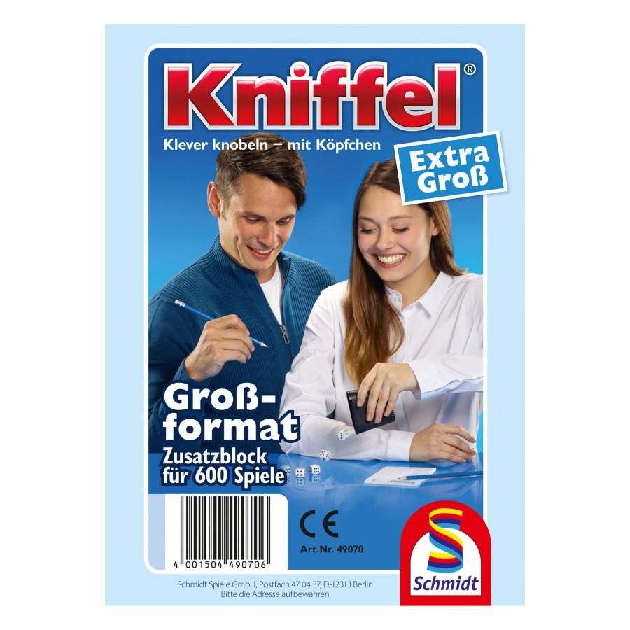 Schmidt Spiele Kniffelblock groß 100 Blatt
