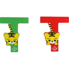SpielMaus Holz Buchstabe T, 2-fach sortiert
