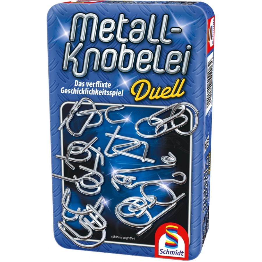 Schmidt Spiele Metall-Knobelei Mitbringspiel in der Metalldose