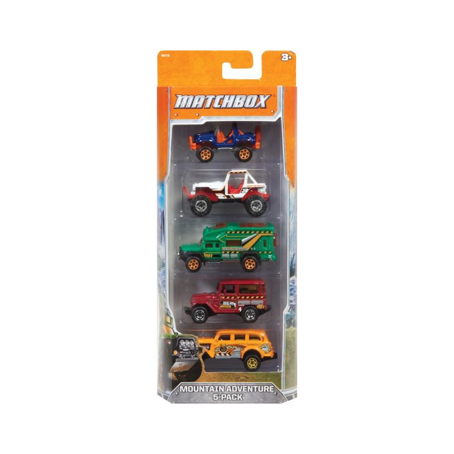 Mattel Matchbox 5er Geschenkset