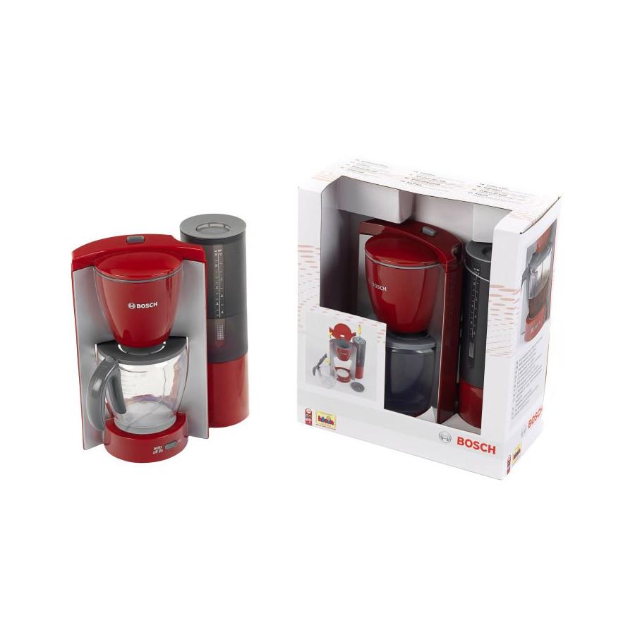 Theo Klein Bosch Kaffeemaschine rot/grau