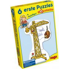HABA 6 erste Puzzles ? Baustelle