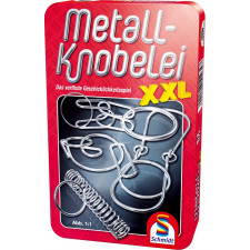Schmidt Spiele Metall Knobelei XXL Mitbringspiel in der Metalldose