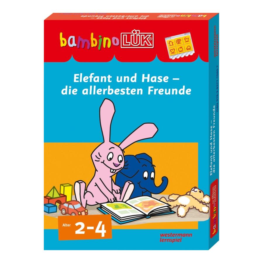 Bambino Lük Set Elefant und Hase die allerbesten Freunde