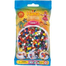 HAMA Bügelperlen Midi - Vollton Mix 1000 Perlen (22 Farben)