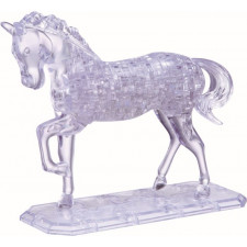 3D Crystal Puzzle - Pferd 100 Teile
