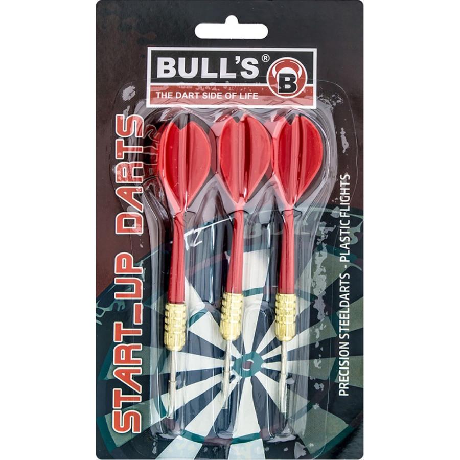 Bull s Steeldarts Starter-Set farblich sortiert