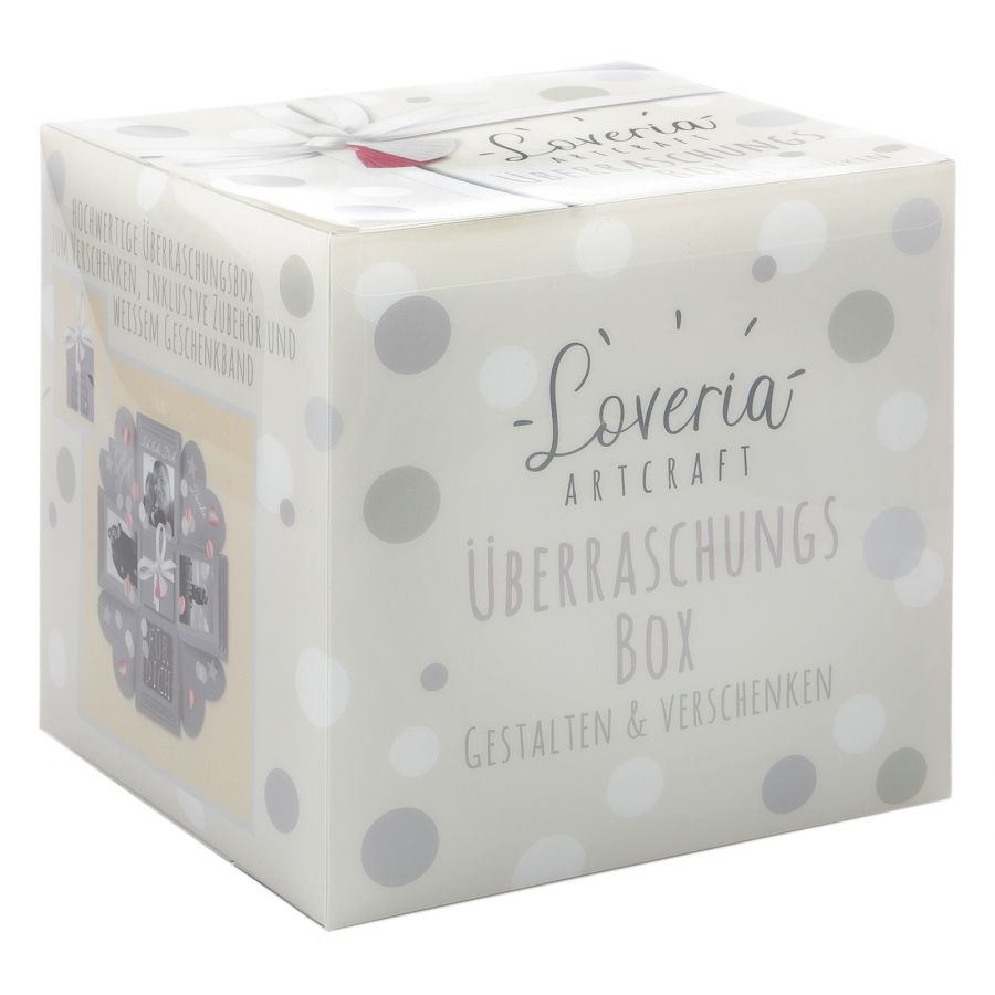 Loveria Überraschungsbox grau