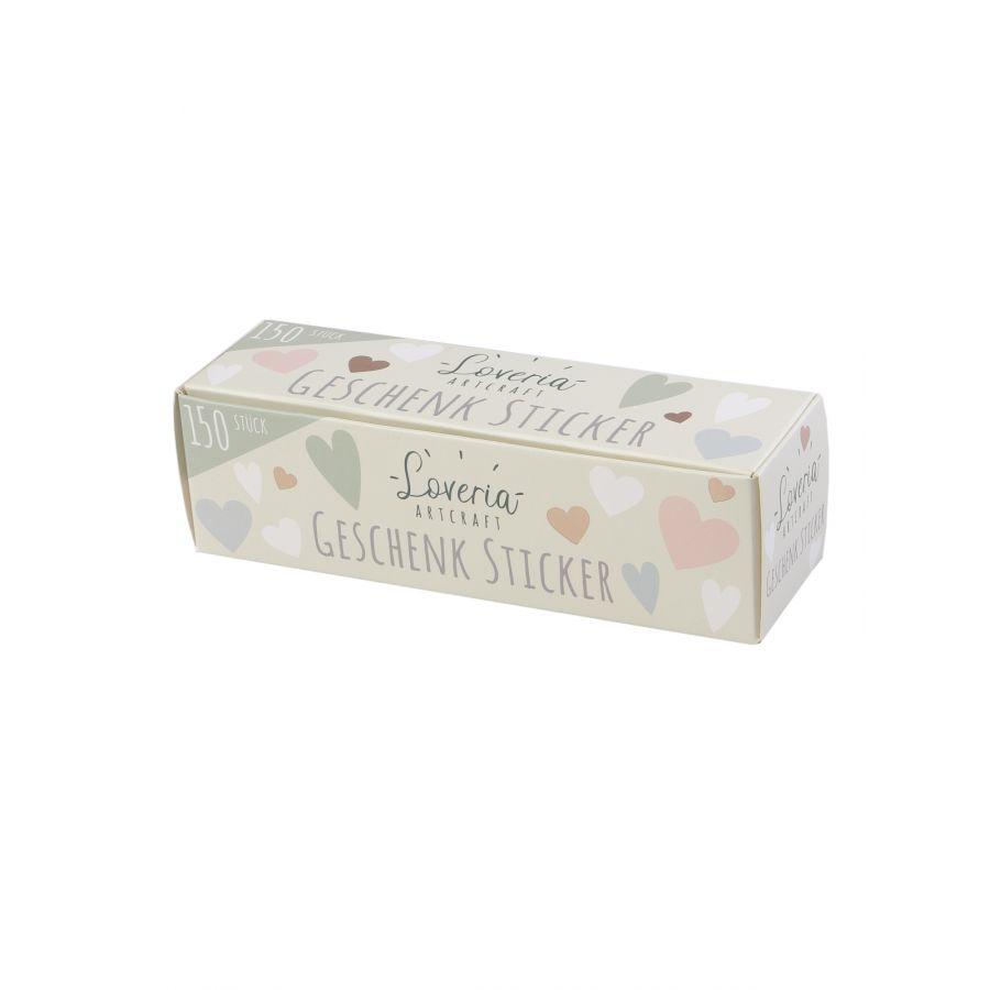 Loveria Sticker Set 150 Geschenksticker