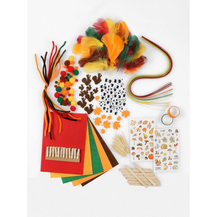 Lulubug Herbst Bastel Set 400 Teile
