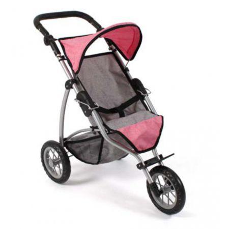 Jogging-Buggy LEON Melange pink