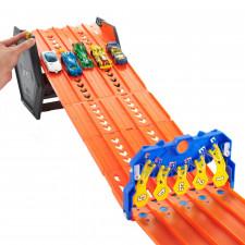 Mattel GYX11 Hot Wheels 2in1 Spielset & Box inkl. 1 Spielzeugauto